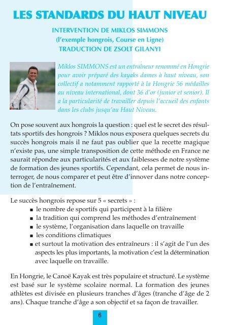 Actes colloque - FFCK
