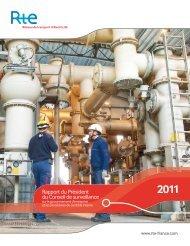 Rapport du Président du Conseil de surveillance 2011 - RTE