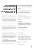 SJO_Magazin - Swiss Jazz Orchestra - Page 3