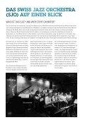 SJO_Magazin - Swiss Jazz Orchestra - Page 4