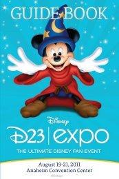 D23 Guide Book - Disney World