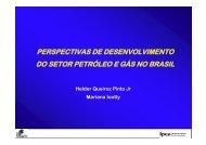 perspectivas de desenvolvimento do setor petróleo e gás no ... - Ipea