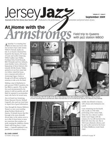 At Home With The Armstrongs - New Jersey Jazz Society