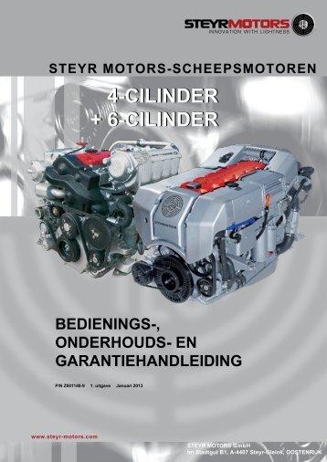 4-cilinder + 6-cilinder 4-cilinder + 6-cilinder - Steyr Motors