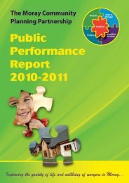 Public Performance Report 2010-11 - Moray Performs