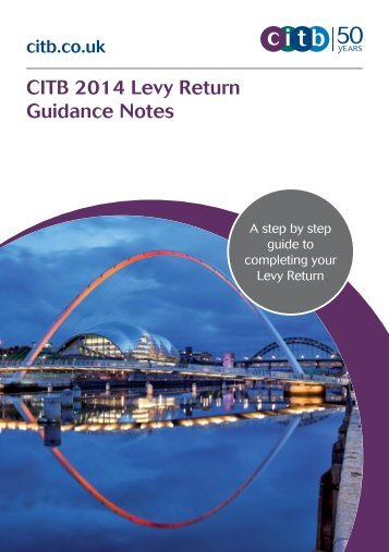 2014 levy return guidance notes