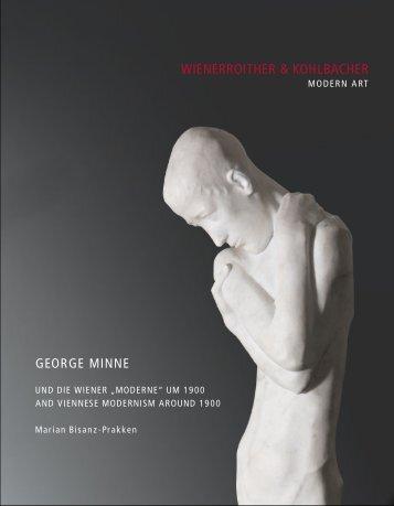 Wienerroither & Kohlbacher GeorGe minne - Austrian Fine Art