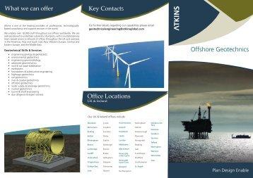 Offshore Geotechnics - Atkins