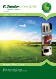Tried. Tested. Trusted. Dimplex Heat Pumps