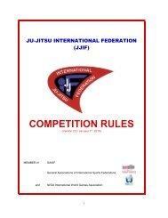 JJIF Competition Rules - United States Ju-Jitsu Federation