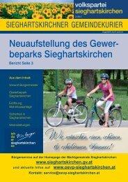 Ausgabe 2/2013 - ÖVP Sieghartskirchen