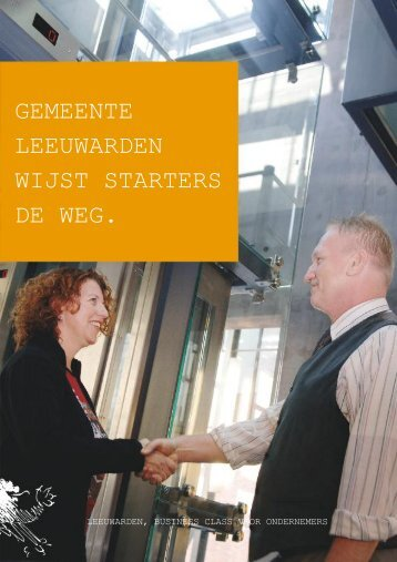 gemeente Leeuwarden wijst starters de weg (PDF, 696 Kb)