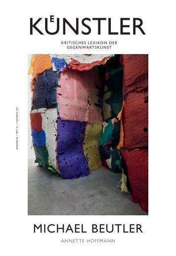 mICHAEL BEuTLER - Zeit Kunstverlag