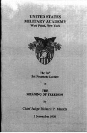the meaning of freed om - USMA Library Digital Collections - West ...