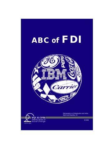 ABC of the FDI-web