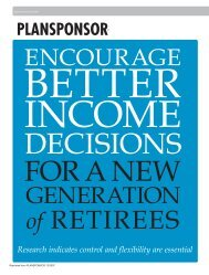 Encourage Better Income Decisions for a New Generation of Retirees