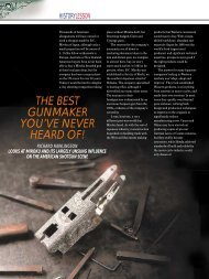 The Best Gunmaker - Clay Shooting USA