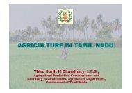 agriculture in tamil nadu - Tamil Nadu Agricultural University