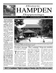 July 2007 (pdf) - Hampden Community Council