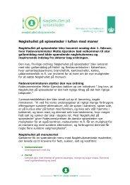 Nøglehullet på spisesteder i luften med maner - noeglehullet.dk