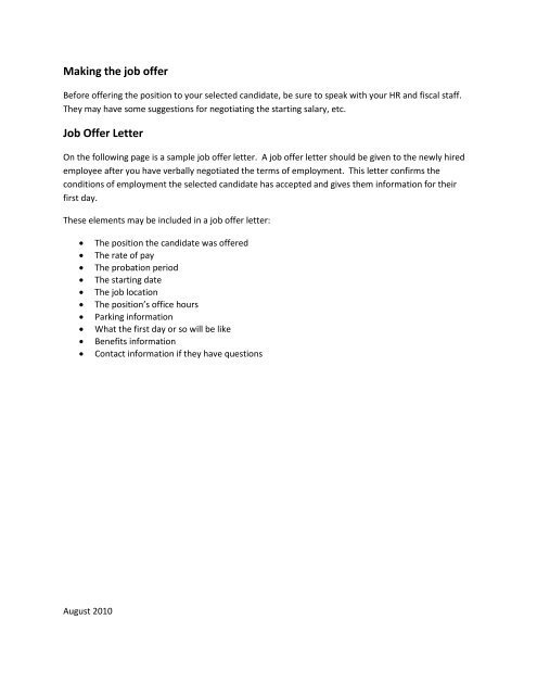 Job Offer Negotiation Letter Sample from img.yumpu.com