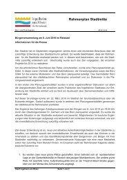 Pressemitteilung zur Bürgerversammlung Juni 2010 - Stadtmitte ...