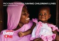 Annual Progress Report 2012-2013 - EveryOne - Save the Children