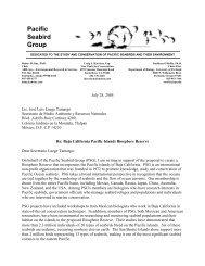 Letter to Secretario de Medio Ambiente y Recursos Naturales