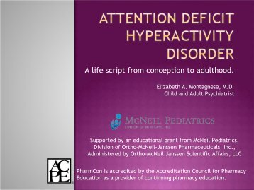 Attention Deficit Hyperactivity Disorder - Free CE Continuing ...