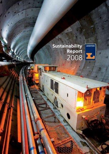 Sustainability Report - Leighton Asia