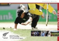 New Zealand Cricket Annual Report 2005 - 2006
