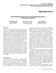 An Integrated Introduction to Engineering Mechanics: A Continuum ...