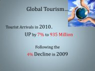 The Current State of Tourism Asia - cacci