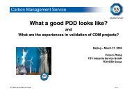 What a good PDD looks like?