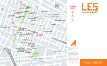 gallery map - Lower East Side Business Improvement District