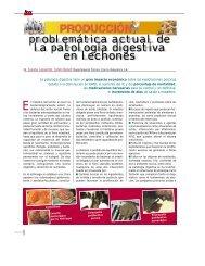 problemática actual de la patología digestiva en lechones