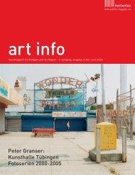 Peter Granser - artinfo-magazin.de
