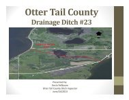 Ditch 23 Presentation - Otter Tail County