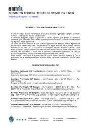Comitato Italiano Paralimpico - Anmil