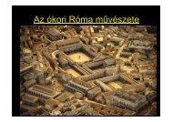 Róma történetének szakaszolása és a római építészet - nsjg.hu