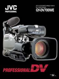 GY-DV700WE catalogue - Creative Video