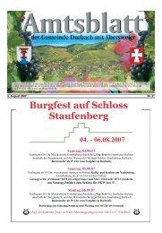 Burgfest auf Schloss Staufenberg 04. - Durbach