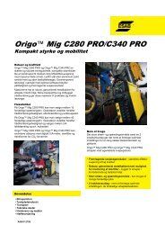 Origo™ Mig C280 PRO/C340 PRO - Svejsehuset A/S