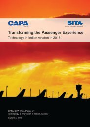 Transforming the Passenger Experience - CAPA