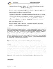 Aquisição da Escrita de Sinais por Crianças Surdas ... - Sign Writing