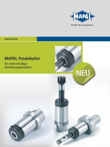 MAPAL Pendelhalter - MAPAL Dr. Kress KG