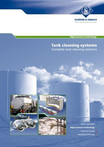 Tank cleaning systems - Woma