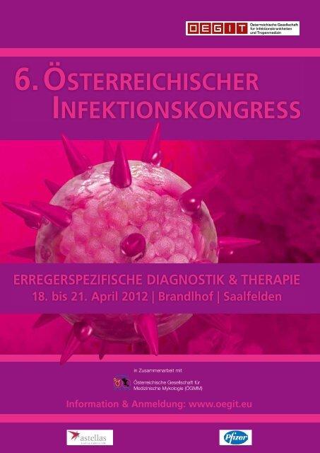 6. österreichischer infektionskongress - Österreichische Gesellschaft ...