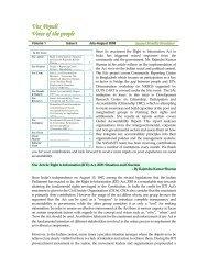 Newsletter July - August 2008 - SASANet