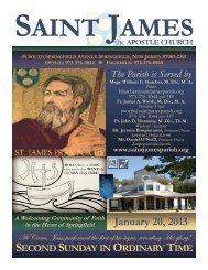 Bulletin 638 Saint James The Apostle Church Springfield NJ ...